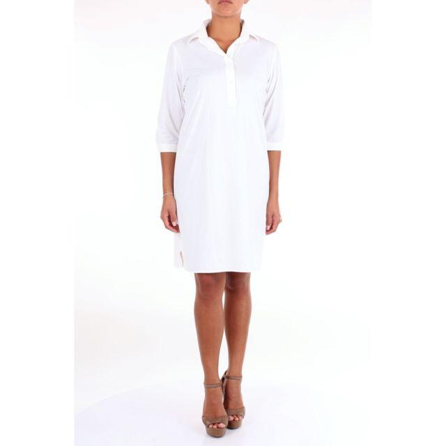 RRD Femme 19550BIANCO Blanc Polyamide Robe