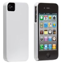 Case Mate - Coque Case-mate Barely blanche pour iPhone 4s