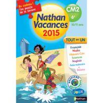 Nathan - Cahier de vacances Primaire : Du Cm2 à la 6ème Vacances 2015 Tout en un