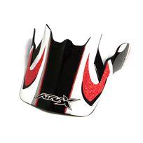 Atrax - Visière casque moto cross - Rouge
