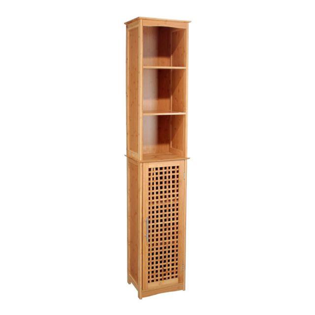 meuble salle de bain bambou - achat/vente meuble salle de bain ... - Bambou Dans Salle De Bain