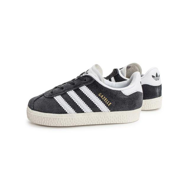 Adidas originals - Gazelle Bébé Grise 25 - pas cher Achat / Vente Baskets enfant - RueDuCommerce