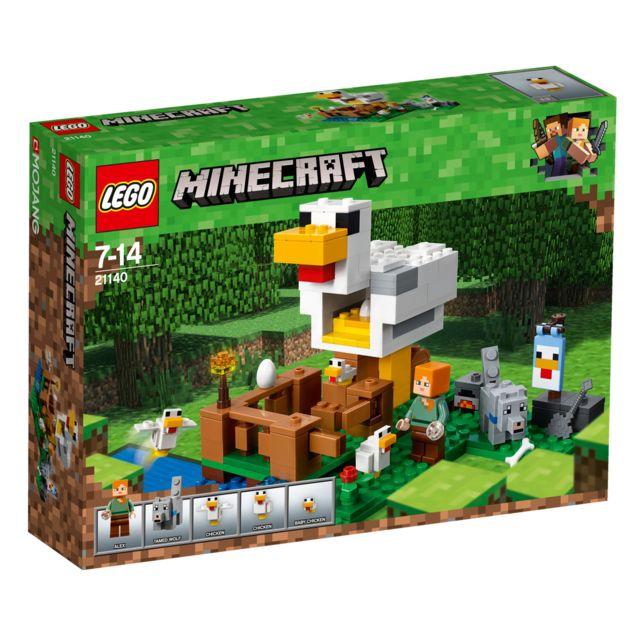 Poulailler 21140 Poulailler MinecraftLe 21140 21140 MinecraftLe EIYD9WH2