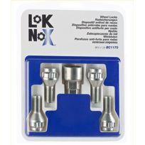 LokNoX - 4 Vis Antivol 12x125 L2 24 - Coniques - Cle 17/19 - Bc1170