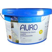 Auro - Peinture à la chaux Professionnelle Intérieux-Extérieur 10L -n°344