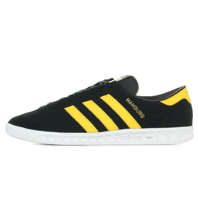 Adidas Hamburg Noir, Jaune 43 13 pas cher Achat