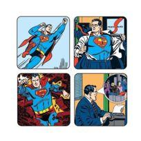 Superman - Pack de 4 Sous-Verres
