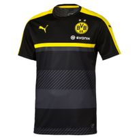 Puma - Borussia Dortmund Training Jsy Noir Maillot Club Homme Football