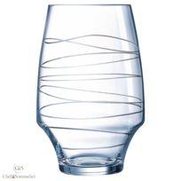 Chef  Sommelier - Boîte de 4 verres à eau Forme Haute 35 cl-Open up Arabesque par Chef Sommelier