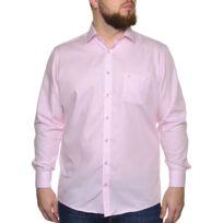 fca55b731801 Chemise homme rose bouton noir - catalogue 2019 -  RueDuCommerce ...
