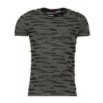 Beststyle - T-shirt homme troué noir