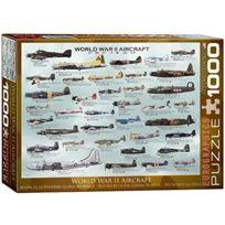Eurographics - Avions De La DeuxiÈME Guerre Mondiale - Puzzle De 1000 PiÈCES