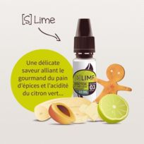 Addiction - E-liquide S, Lime 30 ml Genre : 0 mg- taux de nicotine : 0 mg
