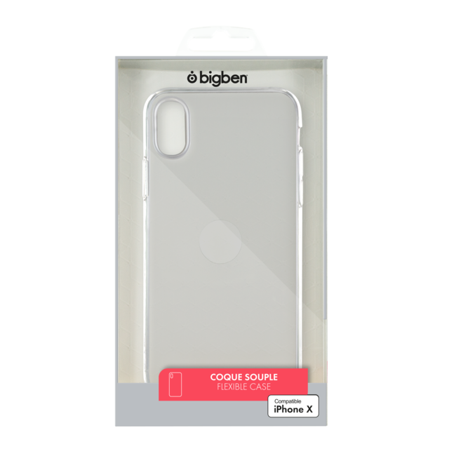 iphone x coque transparente rigide