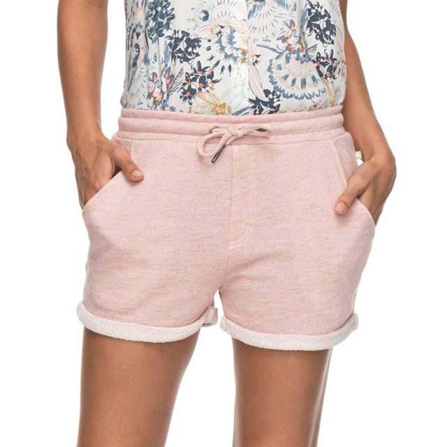 Roxy Trippin Short Femme Taille L Rose pas cher