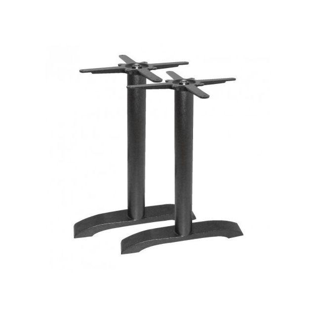 Materiel Chr Pro 2 pieds de table en fonte Bolero