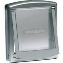 Petsafe - Porte Staywell à 2 positions pour chat ou chien < 7 kg brun