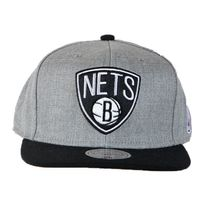 Mitchell And Ness - Casquette Sonic Eu053 Nets Gris / Noir