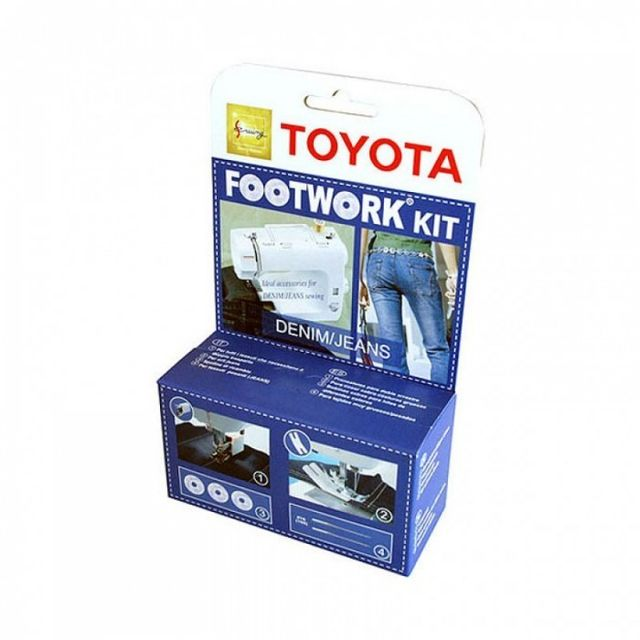 TOYOTA RS Footwork Kit - Denim / Jeans