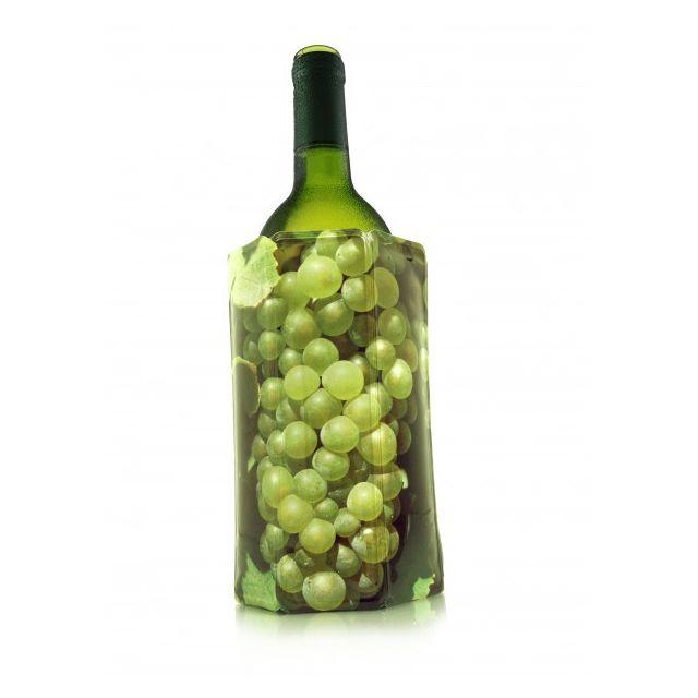 VACU VIN - rafraichisseur de bouteille decor vin blanc - 38814 n.c.