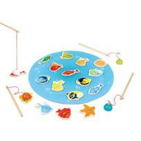 WOOD N PLAY - Jeu de Pêche Magnétique