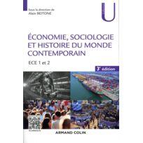 Armand Colin - économie, sociologie et histoire du monde contemporain