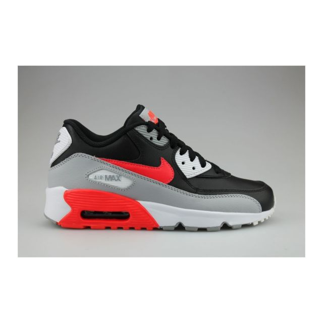catch buy cheap factory outlets Nike - Air Max 90 Leather Junior Noir - pas cher Achat / Vente ...