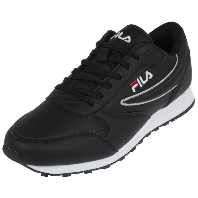 Fila , Chaussures basses cuir ou simili Orbit low noir Noir 74807
