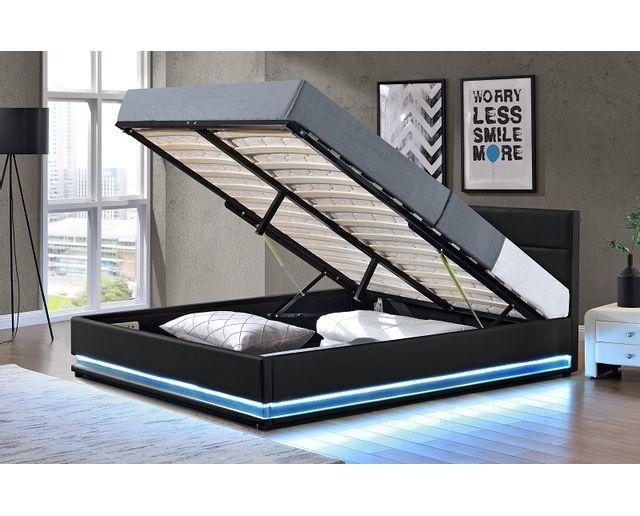 lit coffre 160x200 but 15 fournier decoration jupiter. Black Bedroom Furniture Sets. Home Design Ideas