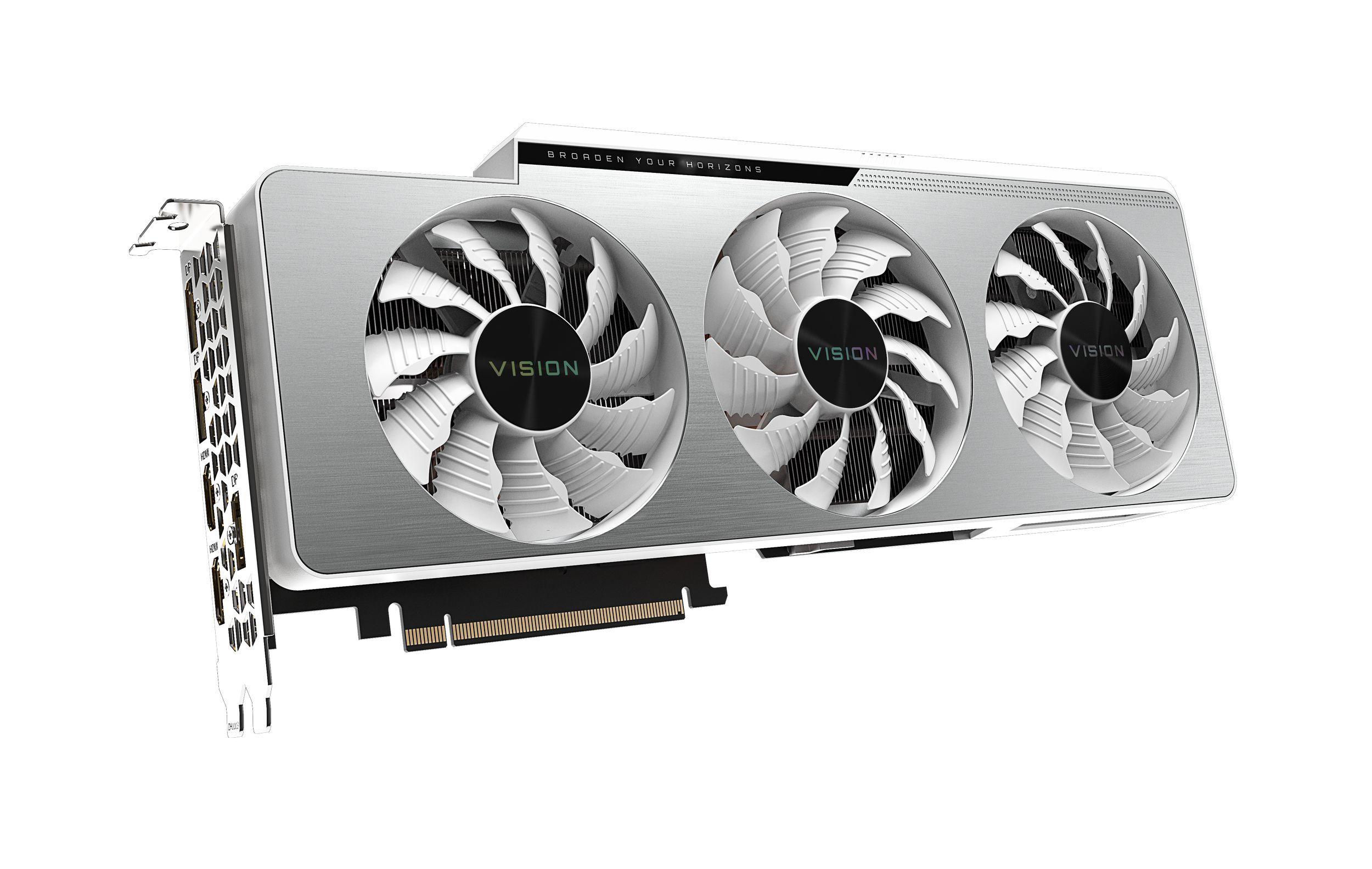 Carte graphique Gaming GeForce RTX™ 3080 VISION OC GDDR6X Gigabyte