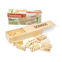 Smir - Dominos : Jeu et coffret en bambou