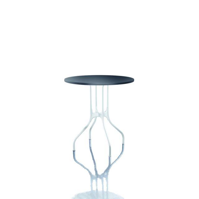 Magis Table ronde Mila - Ø 60 - noir Hpl - blanc