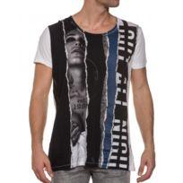 Religion clothing - Tee shirt imprimé col V