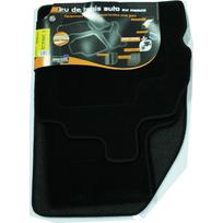 Topcar - 3 Tapis de sol semi-mesure pour Renault Scénic 3, noirs pour fixations d'origine attaches non fournies Arcoll 019511