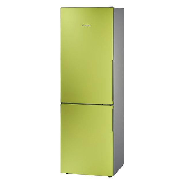 Bosch réfrigérateur combiné 60cm 309l a++ brassé vert citron - kgv36vh32s