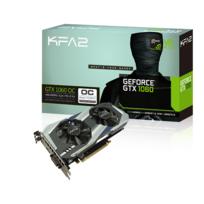 KFA2 - GeForce GTX 1060 OC 6Go DDR5 192bit DP 1.4, HDMI 2.0b, Dual Link-DVI