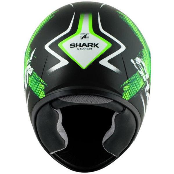 casque moto intégral polycarbonate S600 Exit Kgw mat Promo