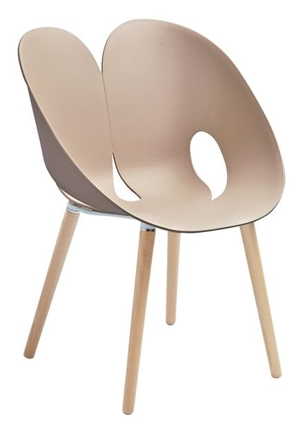 Lebrun Chaise taupe Coco Fesse