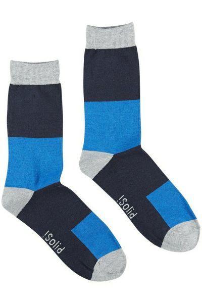 Solid - Chaussettes Gillert 1618 Bleu - 41/44