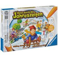 Ravensburger Spieleverlag - Rv Tiptoi Puzzlespiel Reise D.D.JAHRESZ. 1 - 4 Spieler, Ab 4 Jahren 005147
