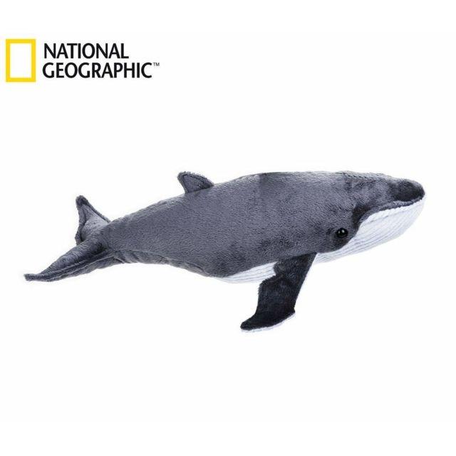 National Géographic Editions National Geographic par Lelly 40 cm Ocean Whale Jouet en Peluche Naturel