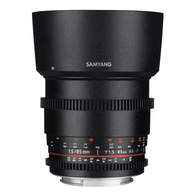 SAMYANG 85mm T1.5 AS IF UMC II - monture Nikon