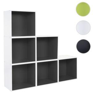Mendler - 6x étagère cube Falun, étagère indépendante ...