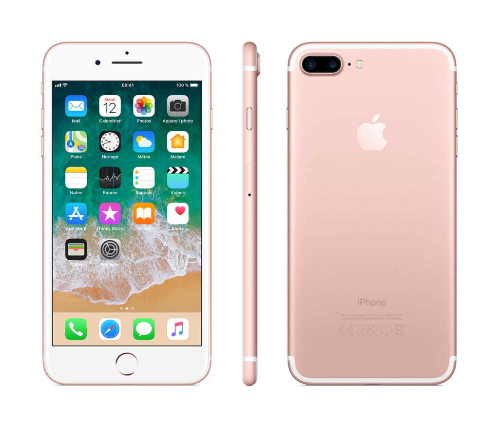 iPhone 7 Plus - 32 Go - MNQQ2ZD/A - Or Rose
