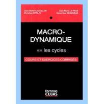 Cujas - macro-dynamique tome 2 ; les cycles