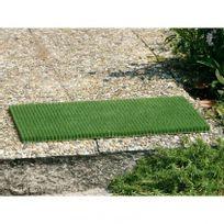 Idmat - Tapis grattant vert 40 x 60 cm