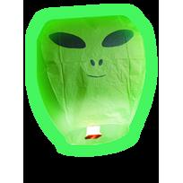 1 Lanterne Volante Alien Verte