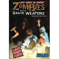 Flying Frog Productions - Jeux de société - Last Night On Earth : Zombies with Grave Weapons Miniature Set