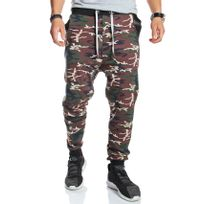 Young And Rich - Jogging homme straight camouflage