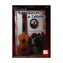 Melbay - Classical Masterpieces In Tablature Classic Guitar In Tablature